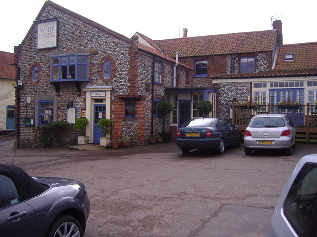 The White Horse Hotel and public house