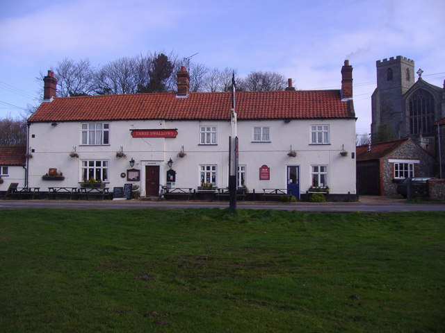 The Three Swallows public house
