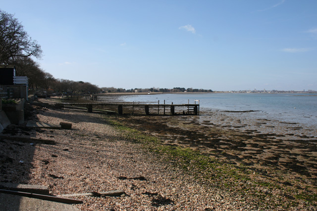 Jetties on Langstone foreshore