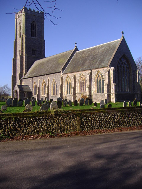 Saint James parish church, Southrepps