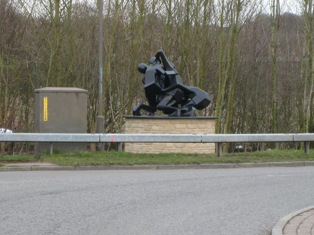 Royal Shrovetide Football Sculpture