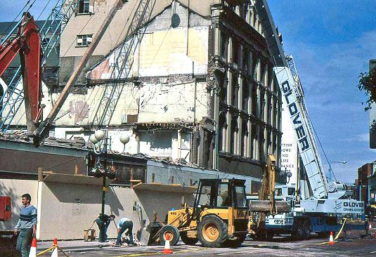 Demolition of Robb's, Belfast