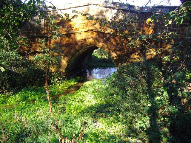 Ancient Bridge over the River Hun