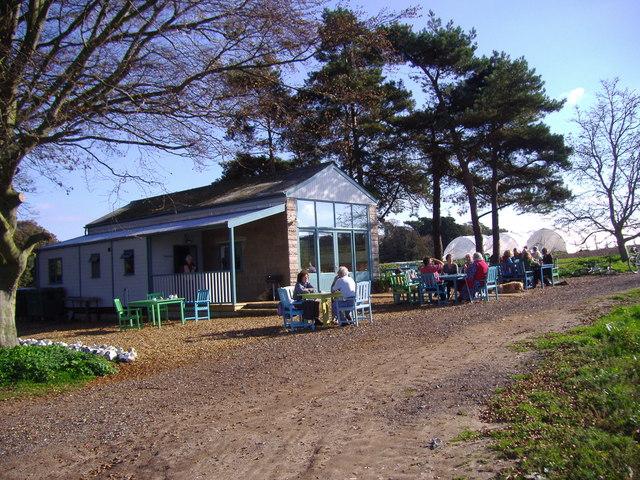 Wiveton Hall cafe