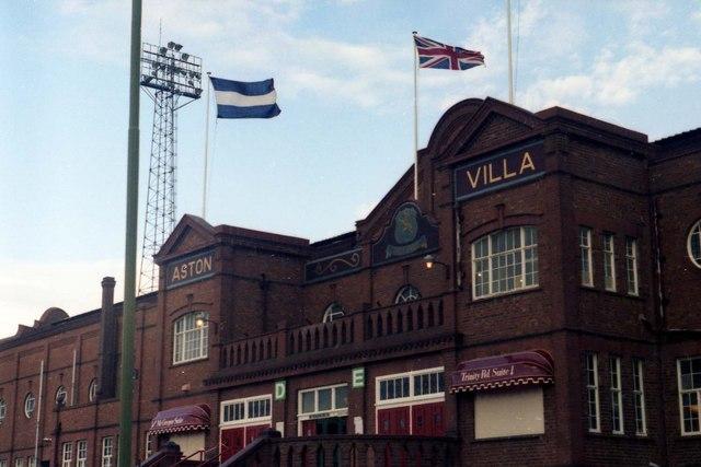 Villains Book Aston Villa