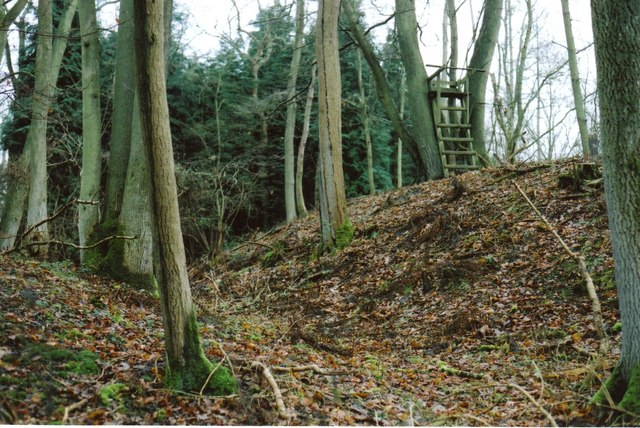 Bussock Camp Hillfort – North Entrance