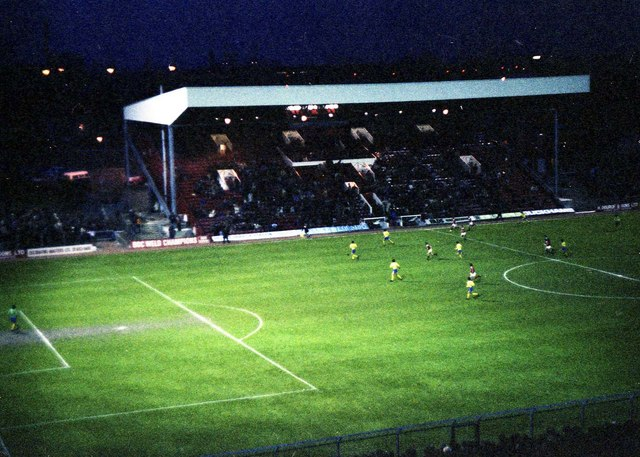 The Main Stand at Charlton from the top of the terrace