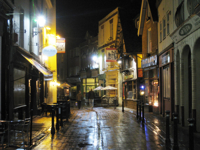 George Street, Hastings at Night
