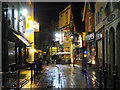 TQ8209 : George Street, Hastings at Night by Oast House Archive