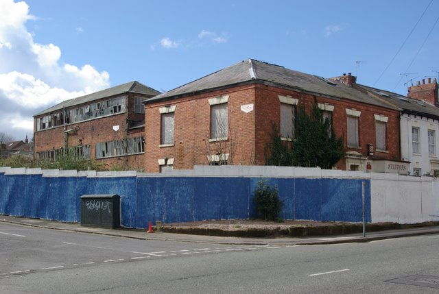 Derelict watch factory