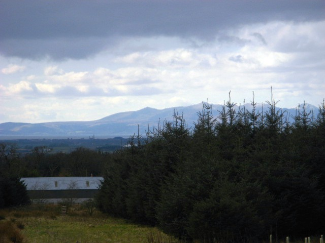 Raithmuir with Arran in the background