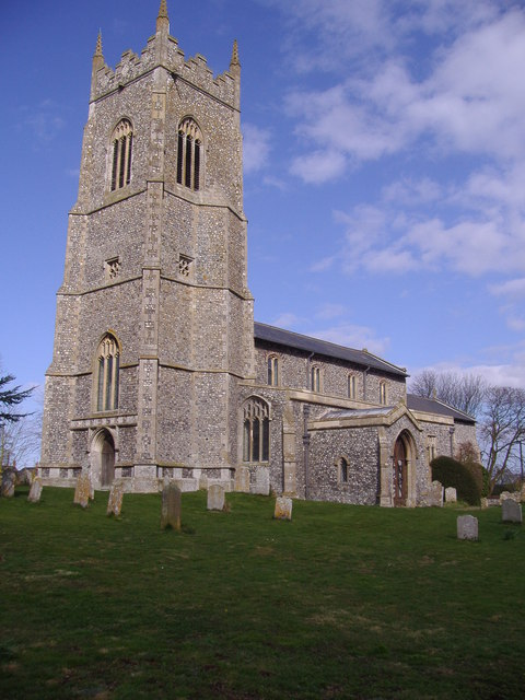 Saint Mary's parish church from the north-east