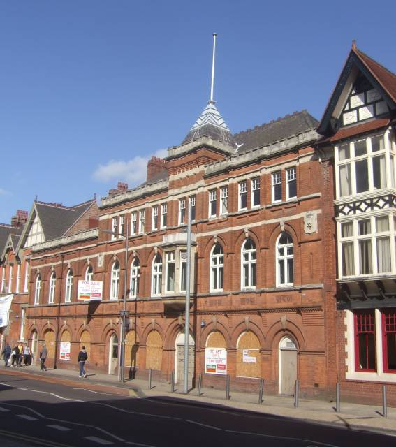 Drill Hall - Stafford Street