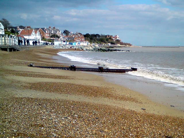 Felixstowe Beach On Map Of Uk