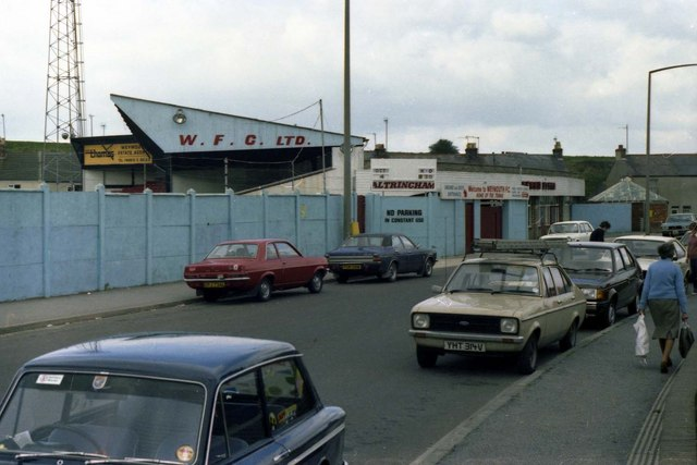 Weymouth fc s old ground 169 steve daniels geograph britain and