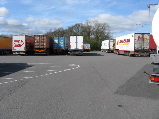 HGV Parking, Keele Services - M6 Northbound