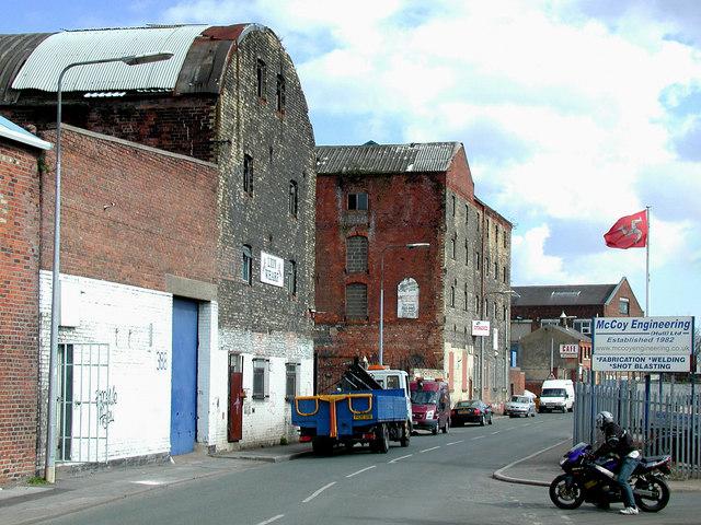 Lion Wharf Mills, Wincolmlee