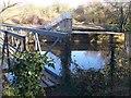 TQ6848 : Footbridges in Stoneham Lock by David Anstiss