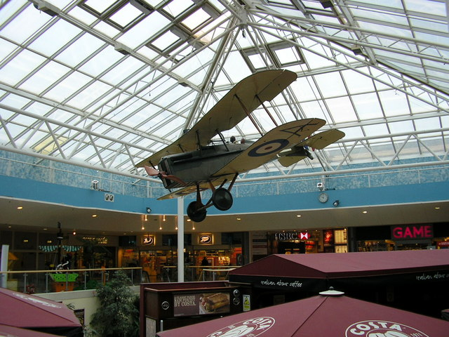 Princes Mead Shopping Mall, Farnborough