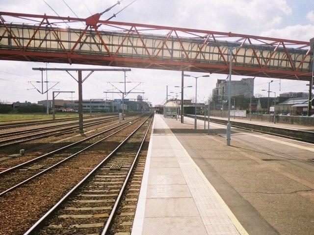 Cambridge station, platform 4