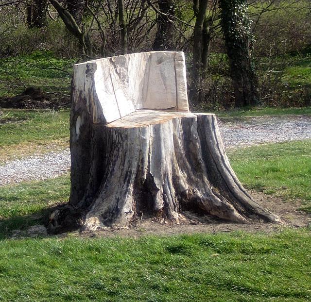 Tree Stump Decorating Ideas House Design And