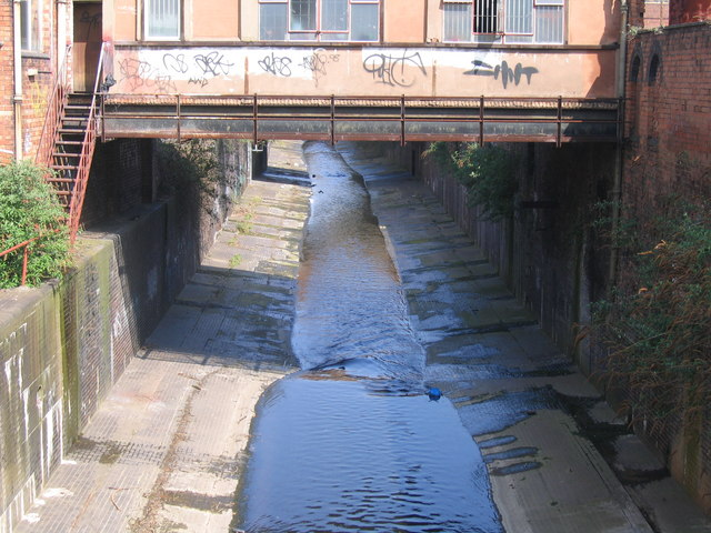 River Rea From Moseley Street, Digbeth.
