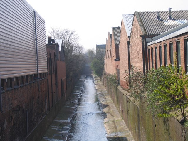 River Rea From Macdonald Street, Looking South