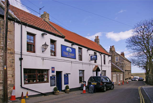The Ship, Public House, Holy Island