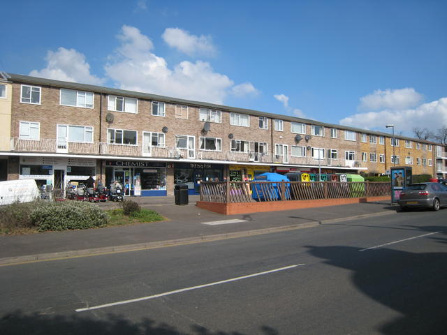 Cornwall Place shops