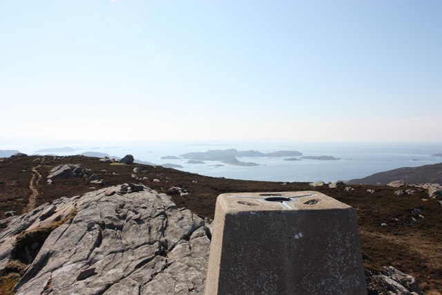 View towards The Summer Isles from Meall an Fheadain