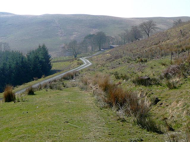 Cwm Pysgotwr Fawr near Bryn Ambor, Ceredigion