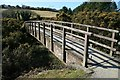 SW7741 : Footbridge near Bissoe by John Gibson