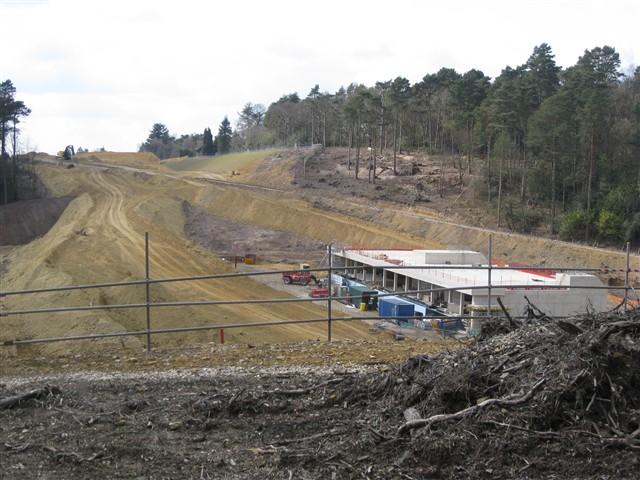 A3 Hindhead Tunnel, South Portal