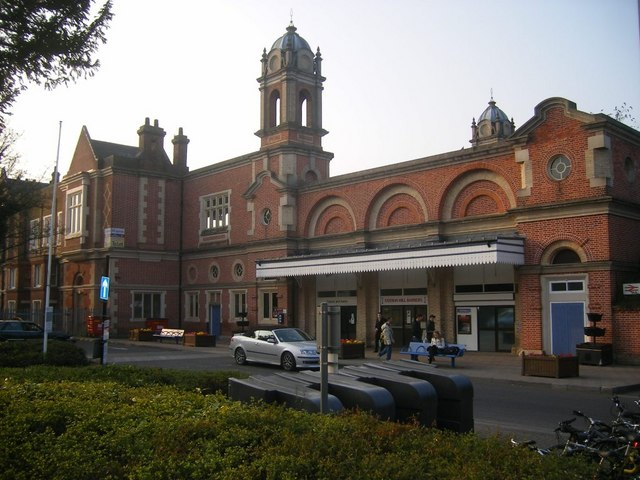 Bury St Edmunds railway station