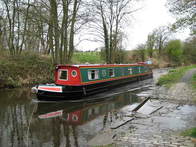 Hire boat, Union Canal