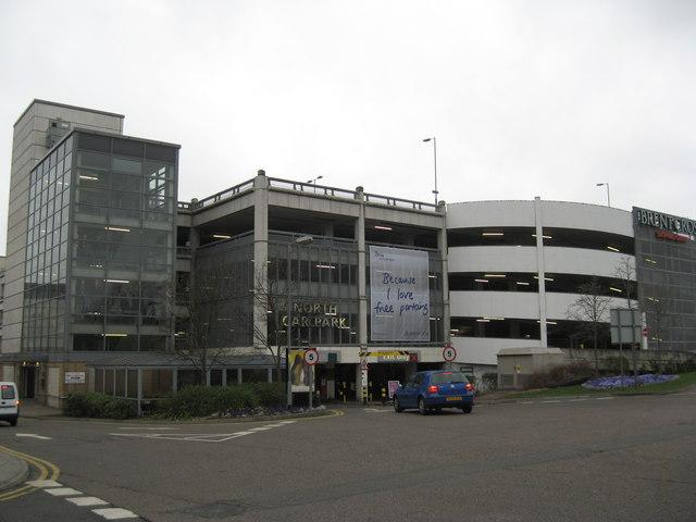 Car Park Near Cineworld