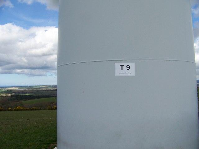 Turbine 9 St Breock Downs Windfarm