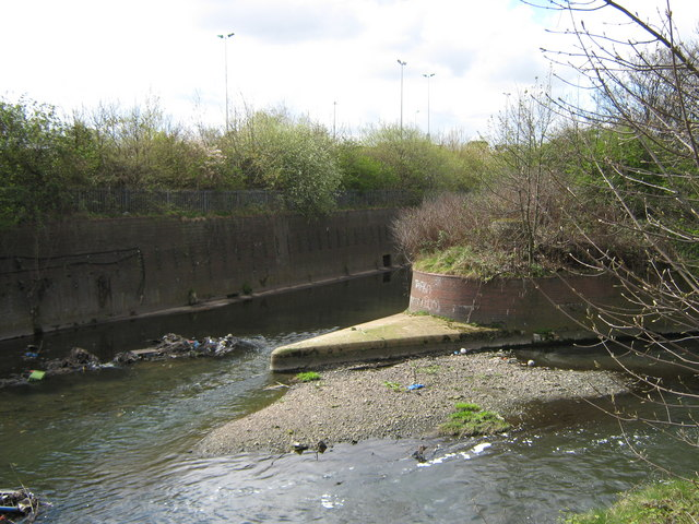 River Rea - The End, Joining the River Tame
