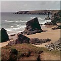 SW8469 : Bedruthan Steps by M J Richardson