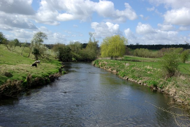 The river Sowe west of Stoneleigh
