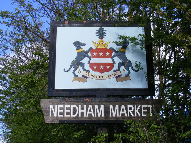 Needham Market Town Sign
