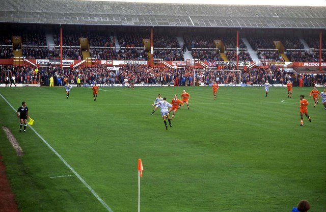 The old Bloomfield Road stand at... © Steve Daniels cc-by-sa/2.0 :: Geograph ...