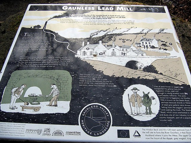Gaunless Lead Mill, Copley
