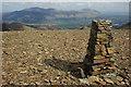 NY1920 : Trig pillar on Eel Crag : Week 14