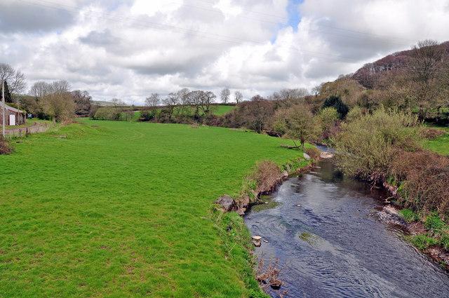 Gwendraeth Fach valley south of Llandyfaelog