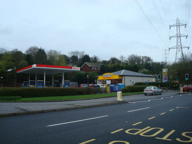 Petrol Station, Sevenoaks Road (A21), Pratts Bottom
