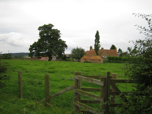 Upper South Farm near Doddershall