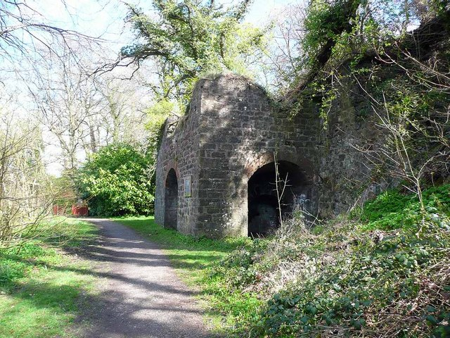 Limekiln below Holmston Road