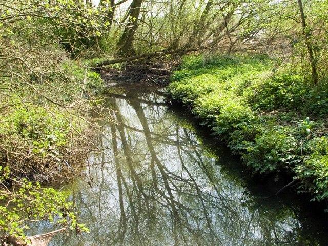 Wesley Brook flows into Priorslee Lake
