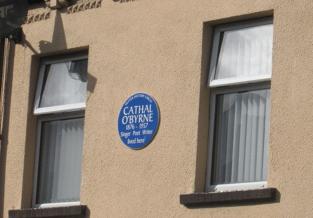 Blue Plaque in Cavendish Street